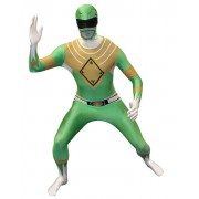 Morphsuit Power Ranger green - Dräkt