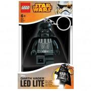 Lego star wars darth vader portachiavi con luce torcia