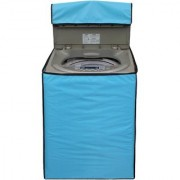 Glassiano SkyBlue Colored Washing Machine Cover For IFB TL- RDW6.5 Aqua Fully Automatic Top Load 6.5 Kg