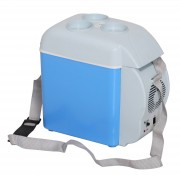 HOMCOM Mini Car Refrigerator Portable Electric Cooler Box Warmer Outdoor Travel 7.5 Litre