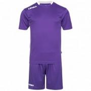 Legea Monaco Voetbaltenue Shirt met Shorts M1133-1403 - violet - Size: 2XS