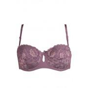 Bardotka podprsenka Anfen 4-664 75D fialová