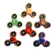 12 Species Colorful Rotating Fidget Hand Spinner ADHD Austim Fingertips Fingers Gyro Reduce Stress