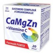 CaMgZn + Vitamina C Forte Zdrovit 20pl
