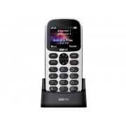 Maxcom MM471 mobiltelefon, dual sim-es kártyafüggetlen, extra nagy gombokkal, vészhívóval fehér