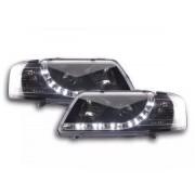 FK-Automotive fari Daylight a LED con DRL look Audi A3 8L anno di costr. 96-00 neri