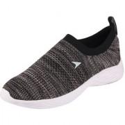 Bata Men's Black Grey Sports Walking Shoes