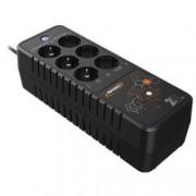Infosec UPS ad alta frequenza 700 VA - 6 prese FR / SCHUKO