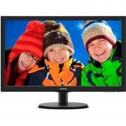 "Monitor W-LED Philips 223V5LSB2/62, 21.5"", Full HD, 5 ms, VGA, Smart Control Lite, Negru"