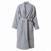 Sealskin Bathrobe Porto Men Size M Grey 16361348611