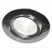 Blinq Piato inbouw LED spot 70 mm rond chroom