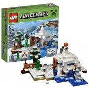 Lego Year 2016 Minecraft Series Set #21120 - THE SNOW HIDEOUT with Creeper
