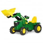 Rolly Toys Rollyfarmtrac John Deere Tractor de Pedales (con Pala y Ruedas Ligera