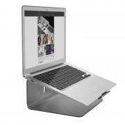 Elago L2 STAND - дизайнерска алуминиева поставка за MacBook и преносими компютри (златиста)