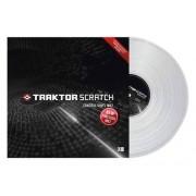 Traktor Scratch Pro Control Vinyl Clear Vinile Controllo Trasparente