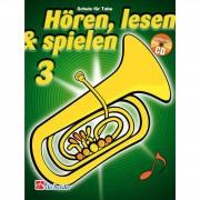 De Haske Hören, lesen, spielen, Band 3 Tuba, Buch & CD