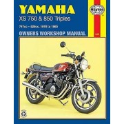 Yamaha XS750 and 850 3cylinder Models Owners Workshop Manual by Man...