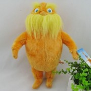 """Dr. Seuss The Lorax 11.8"""" /30cm Lorax Plush Doll Stuffed Animals Figure Soft Anime Collection Toy"""