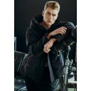 Мъжко зимно яке Urban Classics в черен цвят