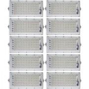 Powerful Ultra Metal 50 Watt 220-240V Waterproof Landscape IP65 Perfect Power LED Flood Light (White)-Pack Of 10