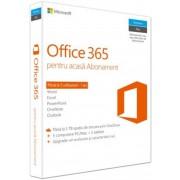 Microsoft Office 365 Home, 32/64bit, Romana, Subscriptie 1 an, 1 user, 5 PC/MAC, Licenta Retail