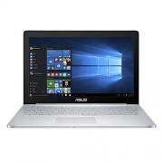"""Asus ZenBook Pro UX501VW-DS71T Gris, Acero inoxidable Portátil 39.6 cm (15.6"""") 3840 x 2160 Pixeles Pantalla táctil 2.6 GHz Intel® CoreTM i7 de la sexta generación i7-6700HQ Ordenador portátil (Intel® CoreTM i7 de la sexta generación, 2.6 GHz, 39.6 cm (15."""
