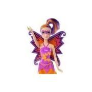 Boneca Barbie Super Princesa Gemeas Maddy Roxa - Cdy65