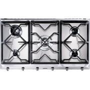Smeg Cucina SRV596GH5 5 Burner Gas Hob - Stainless Steel