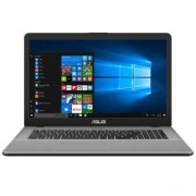 Лаптоп Asus N705UN-GC065, Intel Core i5-8250U (up to 3.4GHz, 6MB), 17.3 инча FullHD (1920x1080) LED Anti-Glare, 8192MB DDR4 2133MHz (1 slot free), 90N