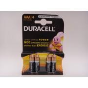 Duracell AAA LR03 baterii alcaline Duralock 1,5V MN2400 blister 4