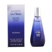 Davidoff cool water night dive woman eau de toilette 30 ml