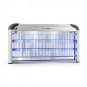 Waldbeck Mosquito Ex 6000, уловител на насекоми, 43W, UV светлина, 200m², сребърен (GIK3-Mosquito Ex6000)