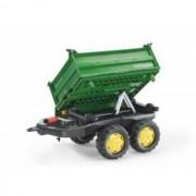 Remorca Mega Trailer Rolly Toys Verde