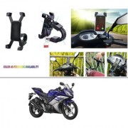 AutoStark Motorcycle Mount Cell Phone Holder/Installed to Motorcycle Rearview mirror Phone Mount For Yamaha R15