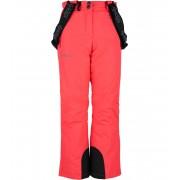 KILPI Dívčí lyžařské kalhoty ELARE-JG JJ0023KIPNK Růžová 158