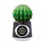 Geen Zwarte bloempot klok 11 cm - Action products