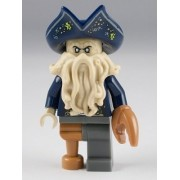 Lego Davy Jones Mini Figure Captain of the black Pearl Pirrates of the Caribbean