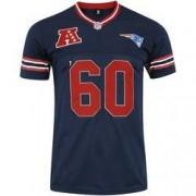 New Era Camiseta New Era New England Patriots Vein Year - Masculina - AZUL ESCURO