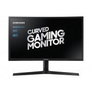 "Samsung C24FG73FQU - CFG7 Series - monitor QLED - curvo - 24"" (23.5"" visível) - 1920 x 1080 Full HD (1080p) - VA - 350 cd/m² -"