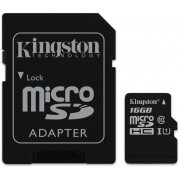Mem.kartica 16GB Kingston SDC10G2/16GB, microSD UHS-I U1