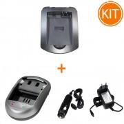 Incarcator Power3000 pentru acumulator Canon tip LP-E8 + Bonus adaptor auto