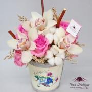 Cos flori vintage CF005