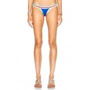 KIINI Tuesday Poly-Blend Bikini Bottom in Blue. - size S (also in L)
