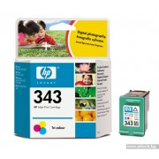 HP 343 Color Inkjet Print Cartridge (C8766EE)