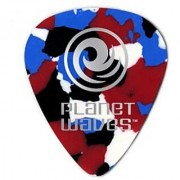 Planet Waves Multi-Color Pearl Celluloid Guitar Picks 100 pack Light