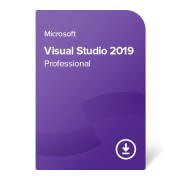 Visual Studio 2019 Professional електронен сертификат