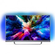 """Philips 55Pus7503 - 55"""" Classe - 7500 Series Tv Led - Smart Tv - Android Tv - 4K Uhd (2160P) 3840 X 2160 - Hdr - Micro Dimming Pro - Prata Escura"""