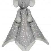Teddykompaniet Diinglisar Organic Stars Snuttefilt Elefant