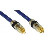 InLine RCA-kabel AUDIO, PREMIUM, 1x RCA hane/hane, 5 m