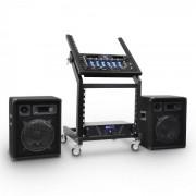 Electronic-Star DJ комплект високоговорители Rack Star Series Mercury Beat 100 души (PL-Merkur-BT)